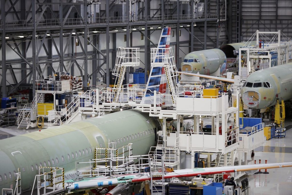 In The South, Boeing Battles Labor While Airbus Battles Boeing