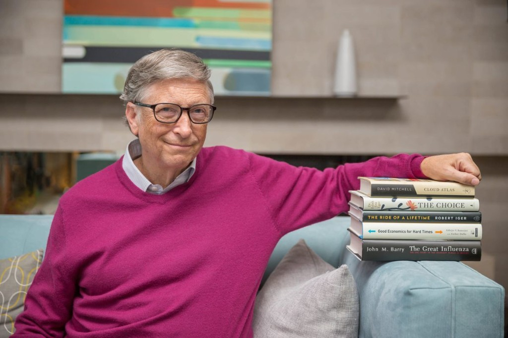 Bill Gates Recommends You Read These Books This Summer If You're Stuck At Home Or Need A Distraction
