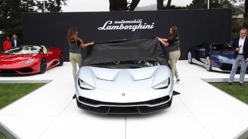 Lamborghini Elevates Niche Marketing To Crazy New Levels With $2 Million Centenario Roadster Unveiled At Quail Lodge