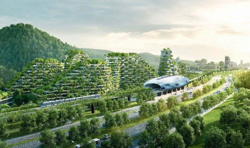 China's New 'Forest City' Will Make You Rethink Urban Cities