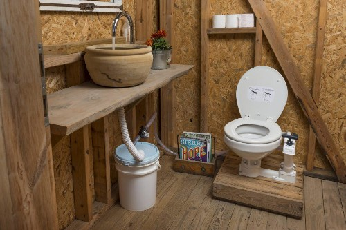 HomeBioGas Toilet Does Double Duty, Converting Waste To Cooking Fuel
