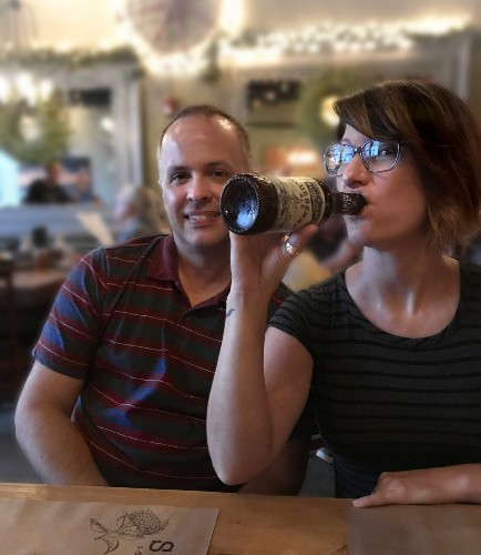 Husband-Wife Duo Shun Vacations In Favor Of Beercations