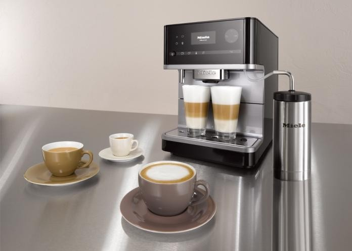 Coffee Deluxe: German Luxury Appliance Maker Miele Brings Barista Home