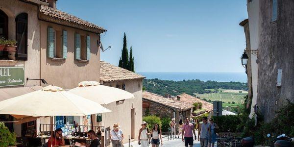 The Soul Of Italian Cuisine Pulses Beside Saint Tropez In France