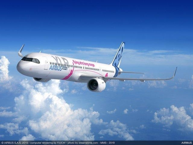 Airbus Launches New Long-Range A321XLR Plane At Paris Air Show
