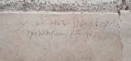 New Pompeii Graffiti May Rewrite History In A Major Way