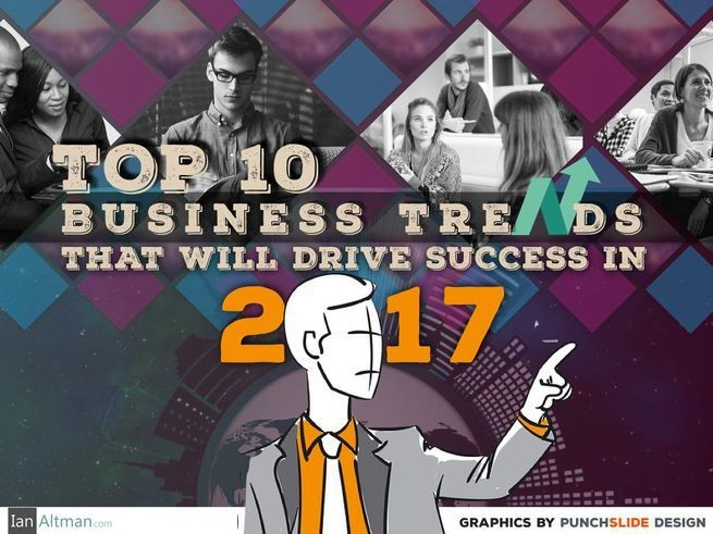 Top 10 Business Trends That Will Drive Success In 2017