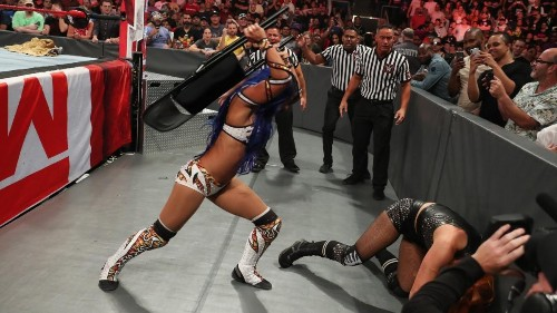 WWE Clash Of Champions 2019 Results: Sasha Banks' DQ Win Extends Bizarre Comeback Story