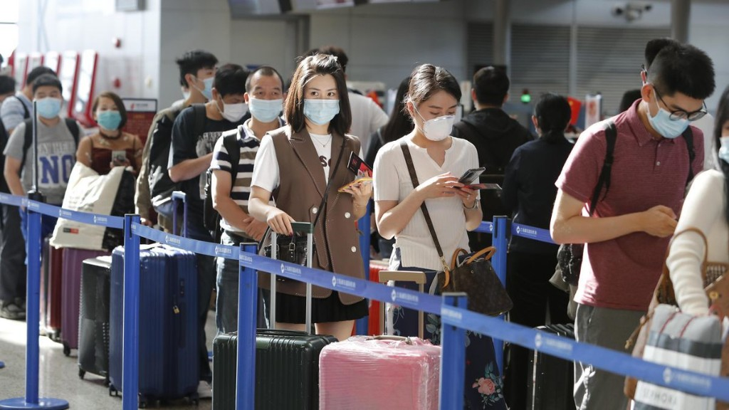 China Bans Travel From U.K., India And Other Countries With Higher Coronavirus Infection Rates