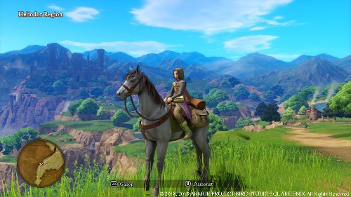 'Dragon Quest XI' On The Switch Looks Surprisingly Decent