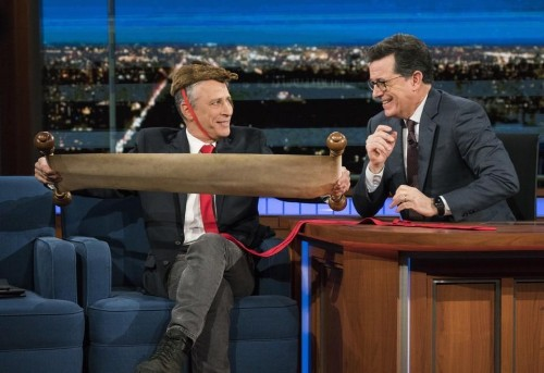 Dumping On Trump Pays Off For Late-Night TV Shows