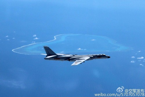 Chinese Bomber Buzzes Philippines' Scarborough Shoal In Latest Salvo Of U.S.-China Signalling War