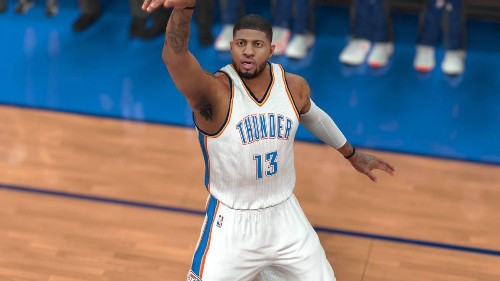 Indiana Pacers Trade Paul George To The Oklahoma City Thunder: What It Means In 'NBA 2K'