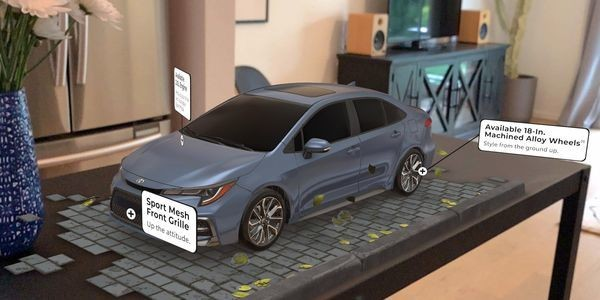 Toyota Deploys AR To Give Mobile Shoppers 3-D, Up-Close And Personal Looks At Its Cars