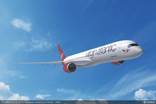 First Virgin Atlantic A350-1000 Flights Take Off Today