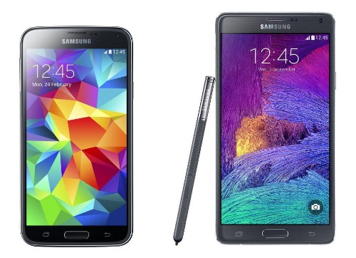 Samsung Galaxy Note 4 vs Galaxy S5: 2014's Biggest Android Phones