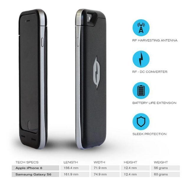 Apple iPhone 6, Samsung S6 Smartphone Cases That Generate Their Own Power