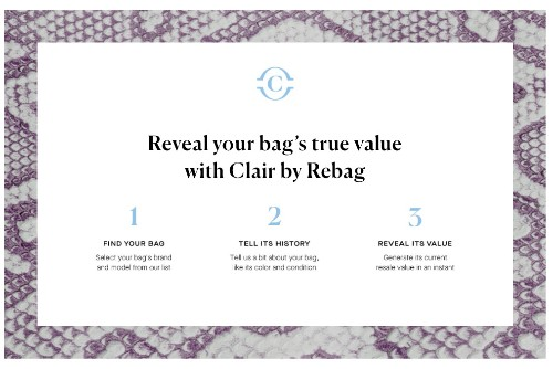 Rebag's Ability To Instantly Tell What Your Handbag Is Worth Is A Game Changer In The Resale Race