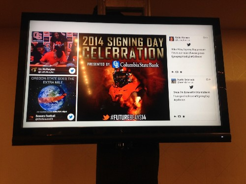 Oregon State Athletics Redefining College Football Fans' Game Day Experience