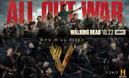 Turns Out 'The Walking Dead' And 'Vikings' Have Shockingly Similar Problems
