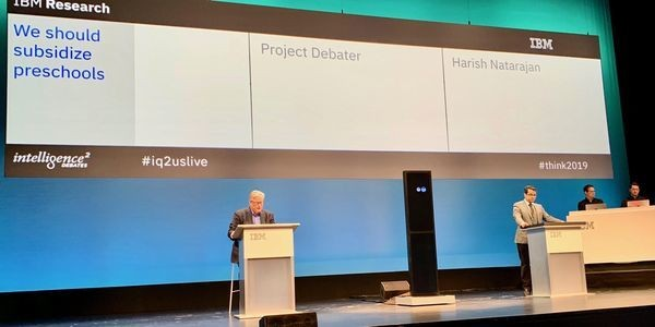 Here's What Happened When IBM's Advanced AI Machine Challenged An International Debate Champion
