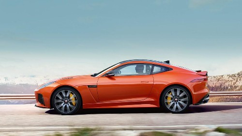 Jaguar Unveils F-TYPE SVR, 'The Muscle Car With A PhD'