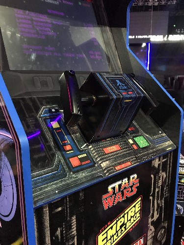 Replica 'Star Wars' Arcade1Up Machine Revives Classic X-Wing Controller