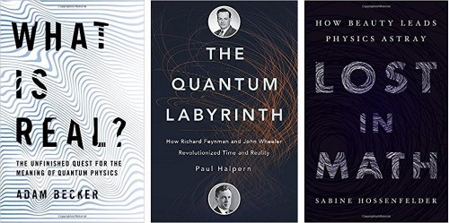 Three Recent Books On Physics And Philosophy