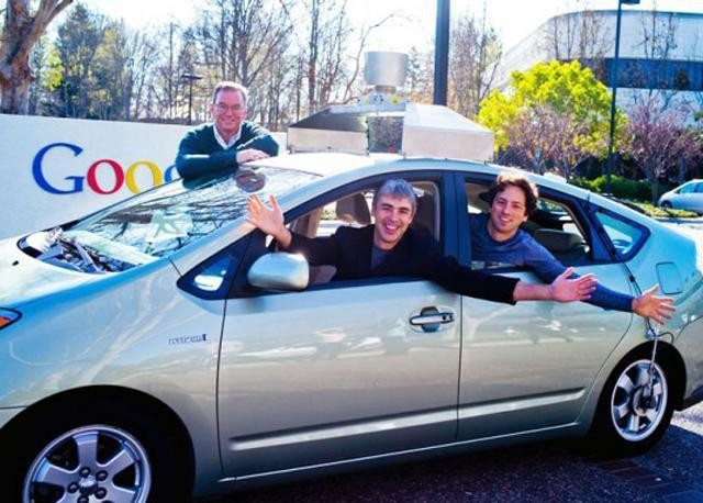 Google's Driverless Car, The Internet Of Things, And George Orwell