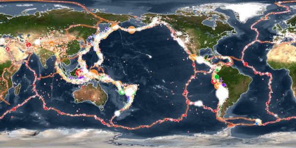 Watch 100 Years Of Earthquakes Rock The World In This Incredible Animation