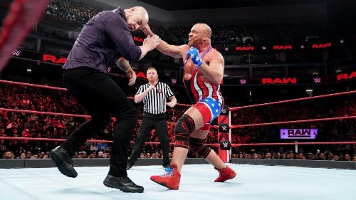 WWE Raw Results: Kurt Angle Selects Baron Corbin As WrestleMania 35 Opponent