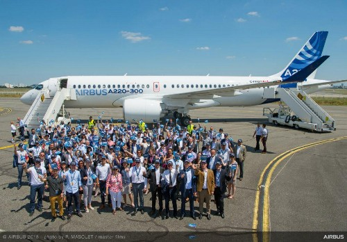 Airbus Extends Range Of A220 In Bid To Dominate Regional Market