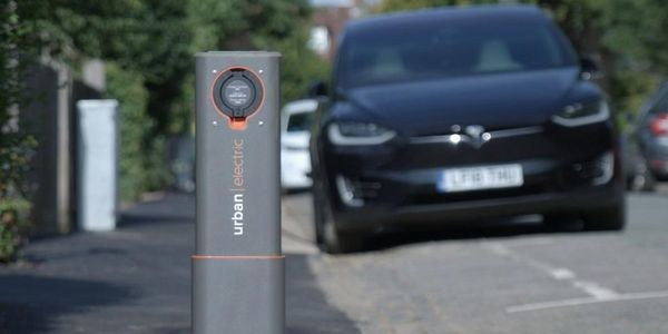 This Electric Vehicle Charger Disappears Into The Sidewalk When Not In Use
