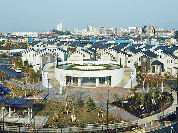 Panasonic Creates A Cool Sustainable City Near Tokyo