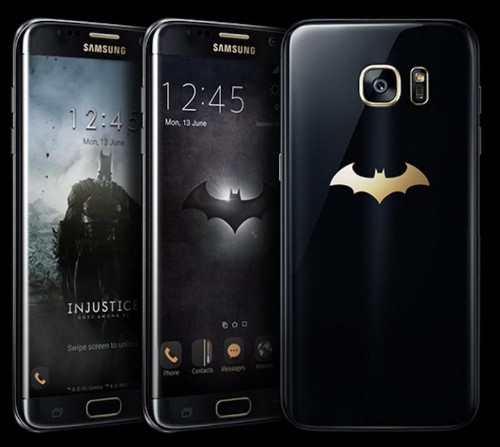 Samsung Unveils Batman-Themed S7 Edge 'Injustice Edition'