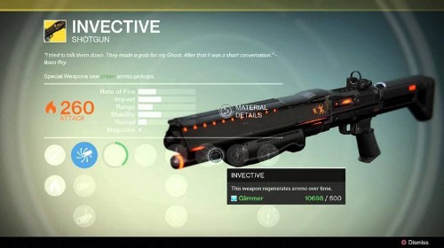 Destiny's Shotgun Fix Demonstrates One Of The Game's Longest Running Problems