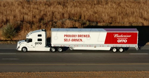 This Bud's For The Robot: Otto, Anheuser-Busch Claim First Automated Truck Shipment