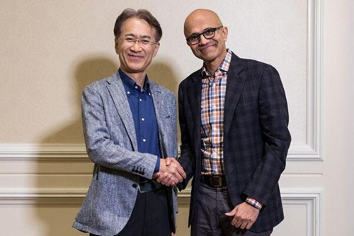 Sony Takes A Rare Dive In Signing Up With Microsoft For Game Streaming And AI