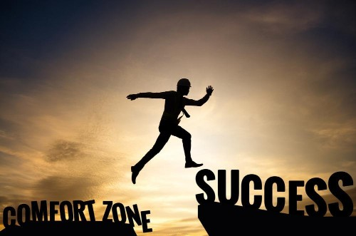 Don't Be A Puddle: 5 Ways To Get Out Of The Comfort Zone