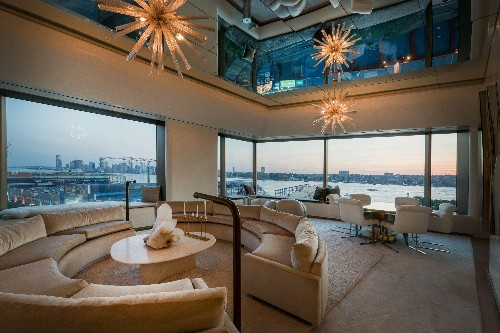 The Views Of The Hudson From This $8.5 Million Condo Are Stunning