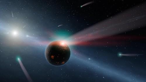 Solar System Set For Eventual Collision With Stellar Orange Dwarf