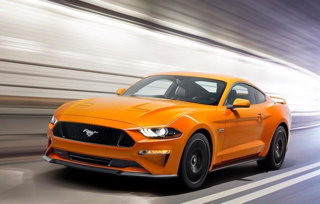 More Aggressive Mustang Near