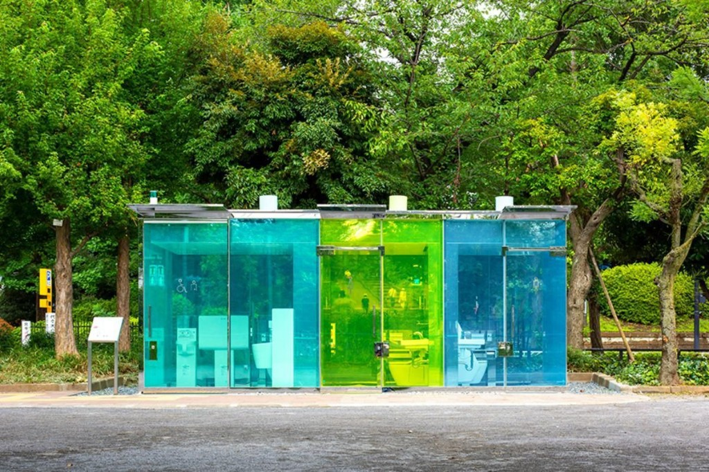 Why Tokyo's New Transparent Public Restrooms Are A Stroke Of Genius