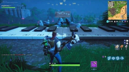 Fortnite's Sheet Music And Piano Playing Challenges Are Its Best And Weirdest Yet