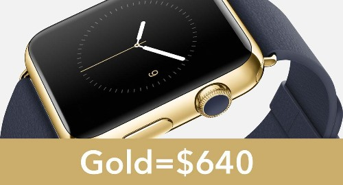 Apple Watch Edition Will Save On Gold With Patented Alloy, Could Start At $2,999