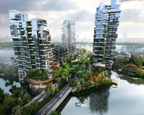 'Crystal Laputa': A Ritzy, Nature-Infused Residential Enclave Rising in Chengdu