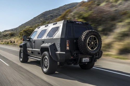 A Quick Drive In The US Specialty Vehicles Rhino GX: Supersized Executive Transportation