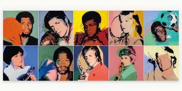 Andy Warhol's 'Muhammed Ali' Shuffles To Top Lot Of Richard Weisman's Legendary Art Collection