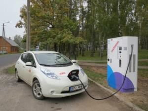 Estonia Launches Nationwide Electric Vehicle Fast-Charging Network