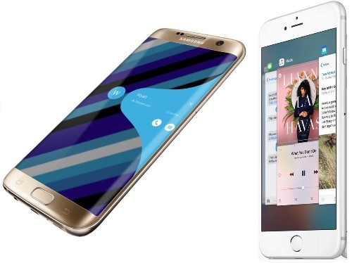 Galaxy S7 Giving iPhone 6s Trouble On (At Least) Two Fronts